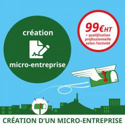 Création de votre auto-entreprise (micro-entreprise)