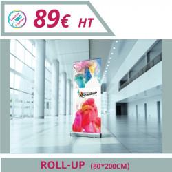 Imprimeur Marseille : Signalétique objet publicitaire roll up