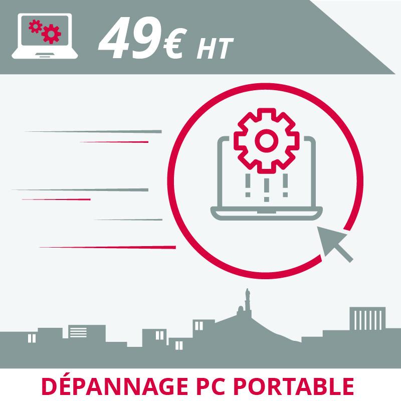 Informatique Marseille : dépannage pc portable en atelier à Marseille