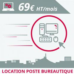 Informatique Marseille : location poste bureautique à Marseille
