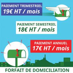3 mois de Domiciliation Marseille 1er - Domiciliation Marseille 1er - Domiciliation d'entreprise
