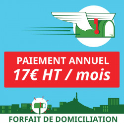 1 an de Domiciliation Marseille 1er