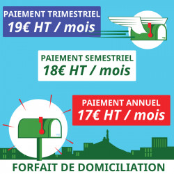 1 an de Domiciliation Marseille 1er - Domiciliation Marseille 1er - Domiciliation d'entreprise