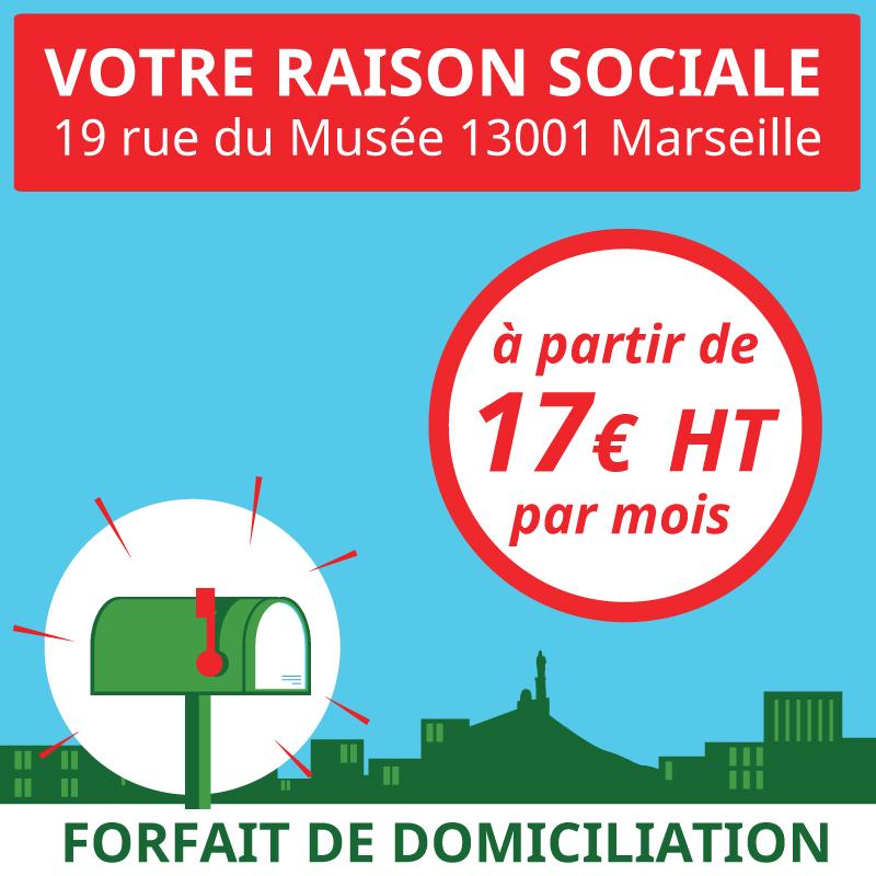 Service pour ouvrir en ligne une domiciliation pour une entreprise ou une association à Marseille 1er